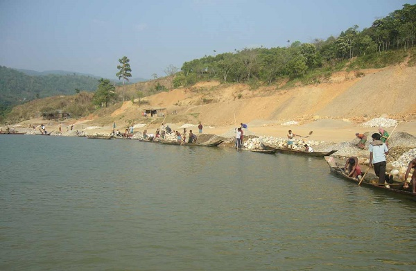 Jaflong can be a natural tourist spot inside Division of Sylhet, Bangladesh. It is situated in Sylhet district